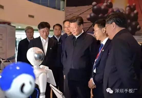 检阅机器人