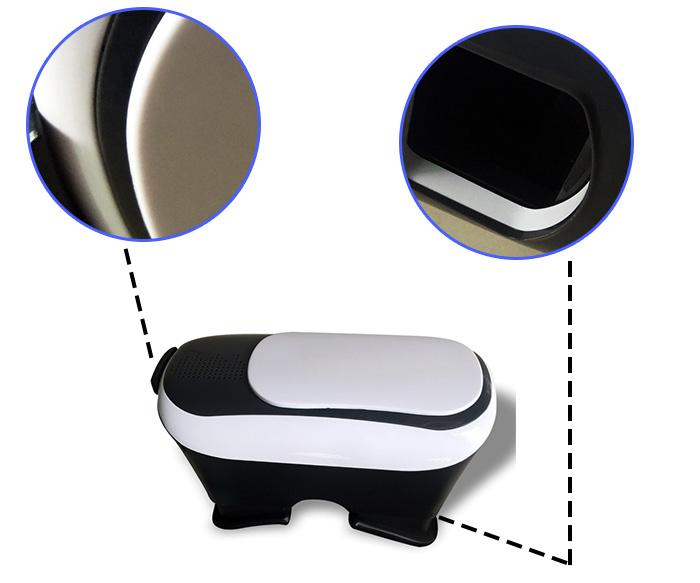 3d眼镜手板细节图