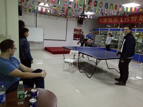 打乒乓球2