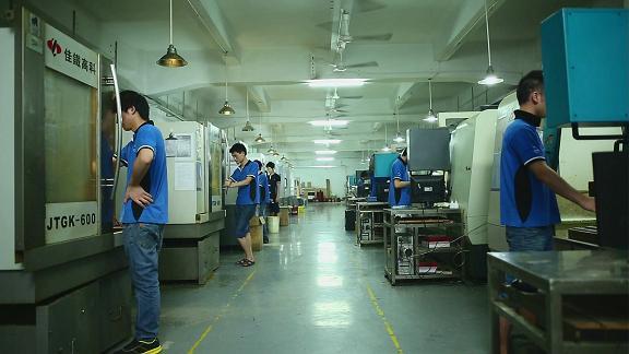 55台CNC加工中心