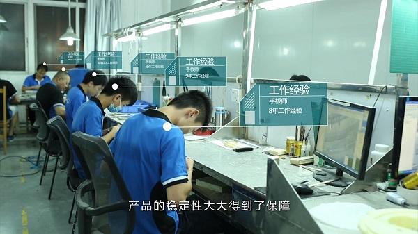呼吸机复膜手板厂车间