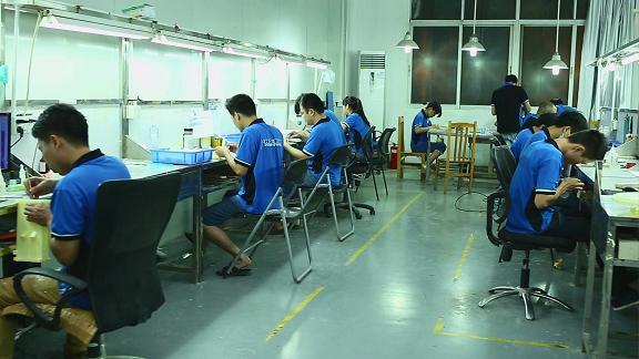 深圳手板加工厂员工