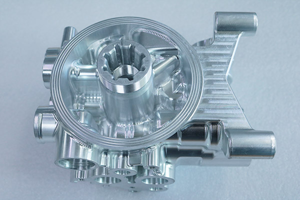 铝合金外壳五轴加工